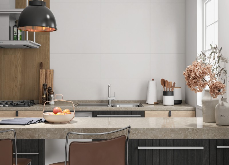 Blanco  Brillo 25X75