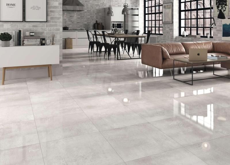 Concrete Perla Brillo 60X60
